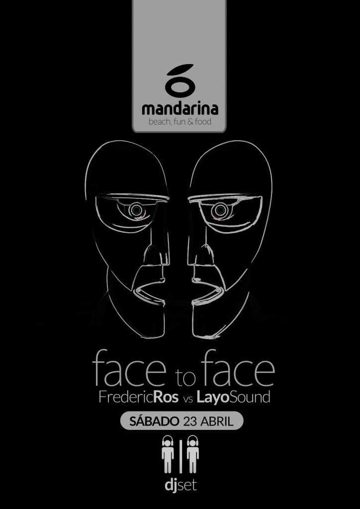 face to face abril mandarina