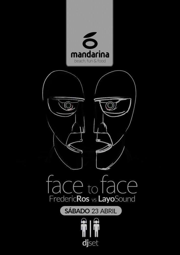 face to face abril mandarina