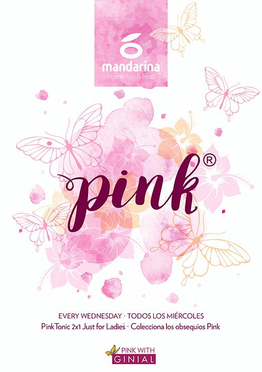 Pink mandarina ginial